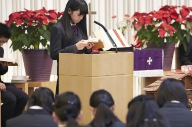 桜美林中学校・高等学校|クリスマス礼拝