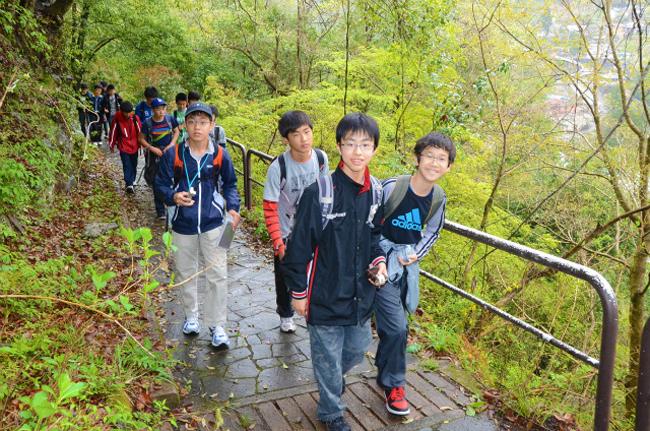 東京都市大学付属中学校・高等学校|多摩川徒歩ラリー