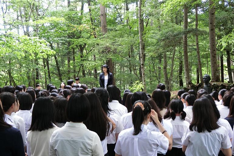 日本女子大学附属高等学校|軽井沢