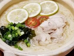 don25M1908鶏とかぼすの汁麺